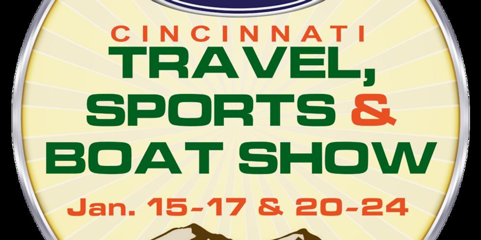 Cincinnati Travel, Sports & Boat Show!