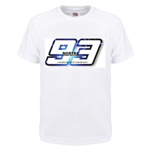 "TEE SHIRT ""NOSTRA 93"" OFFICIEL"