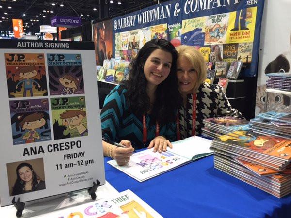 Book Expo America, Chicago, 2017, with Deborah Warren