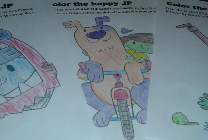 Coloring Pages for the My Emotions & Me books