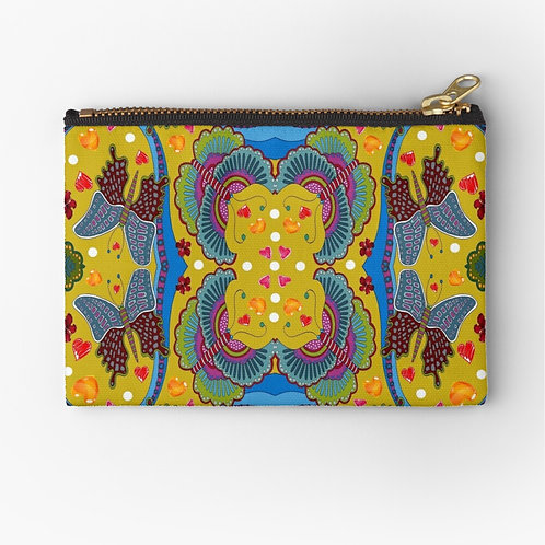 "Large Pouch ""Butterfly"""