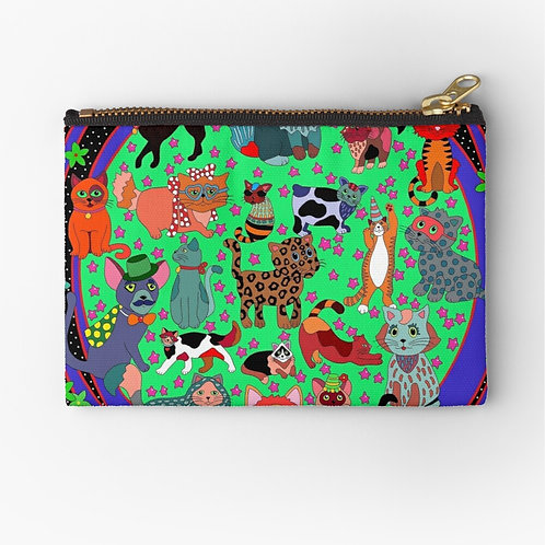 "Pouch ""Love Cats"""