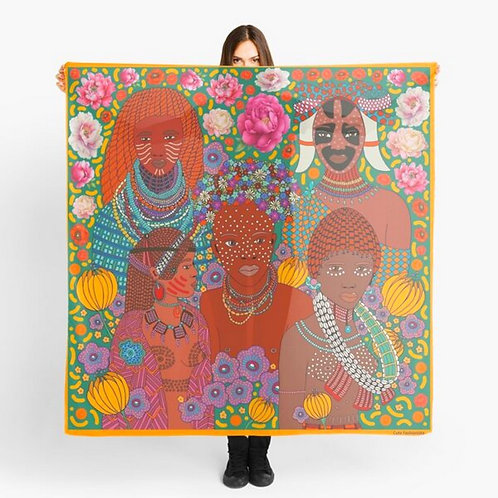 """Scarf / Sarong """"African Beauty"""""""