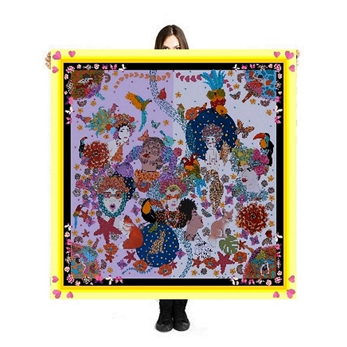 """Scarf / Sarong """"Women in LOve"""""""