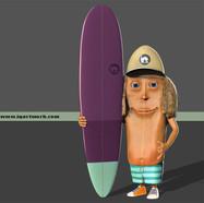 Surfboard Dude