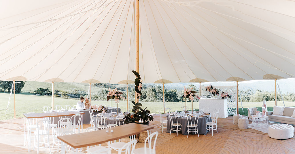 Sperry Tent Luxury Wedding Marquee