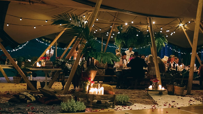 Tipi Luxe Teepee Festoon and Fairy Lighting For Hire