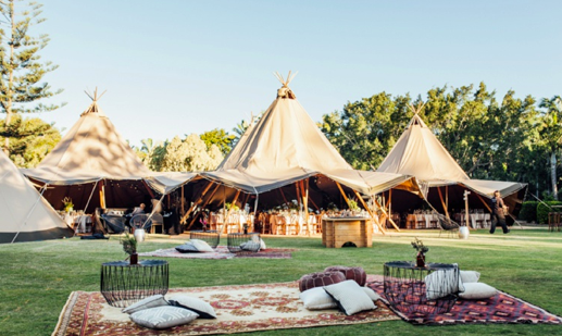Tipi Luxe - Corporate Event