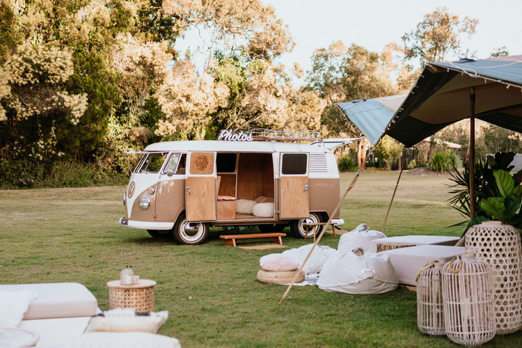 Bohemian Sunshine Coast Tipi Wedding