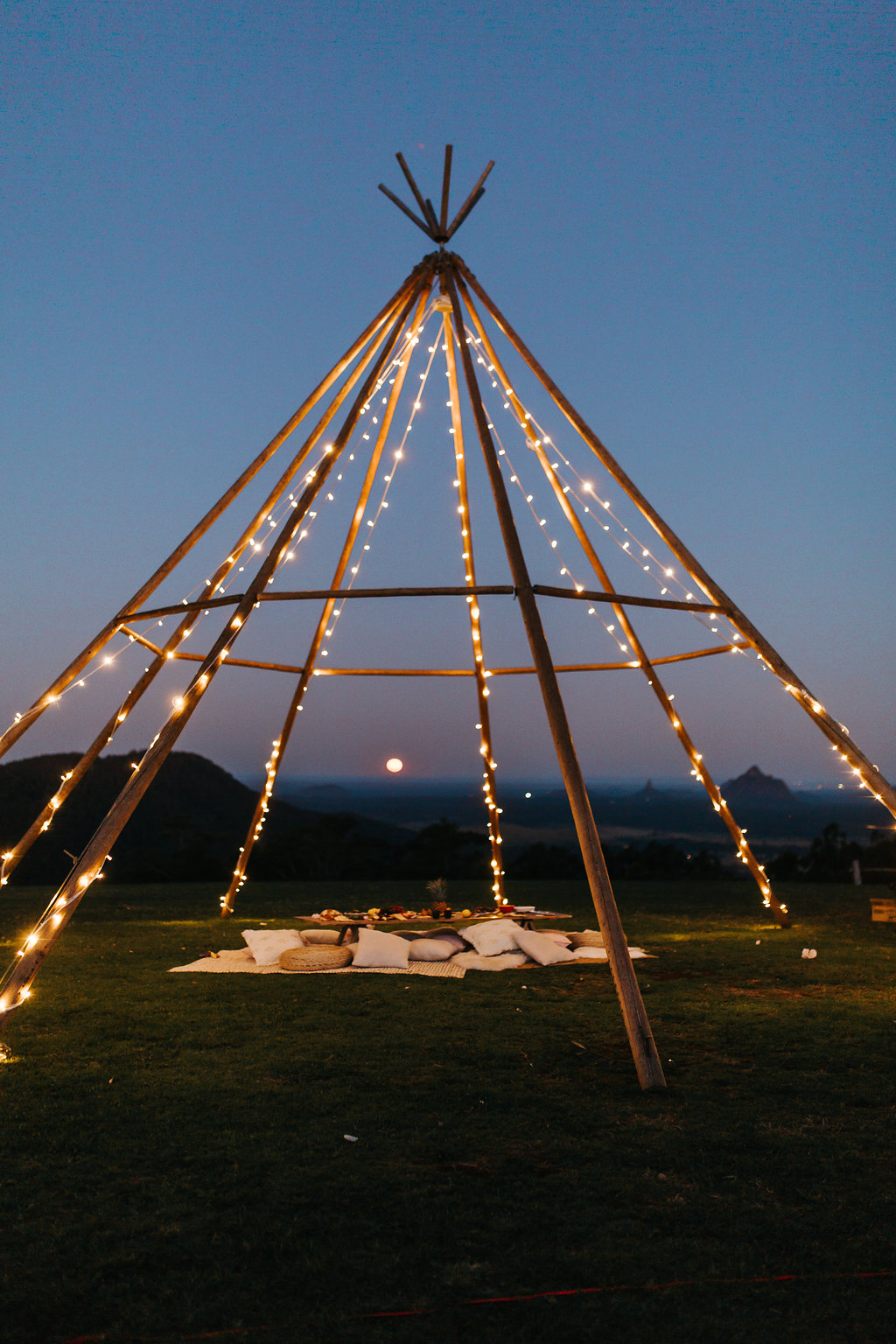 Tipi Luxe Naked Teepee
