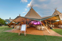 Corporate Teepee Event - Noosa Woods