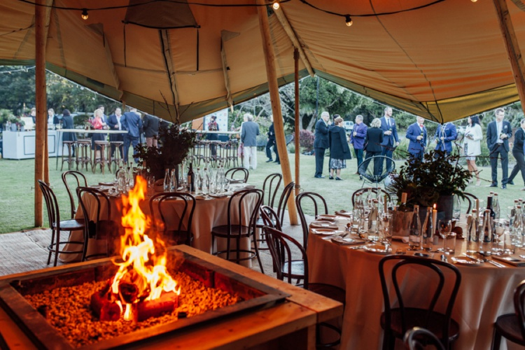 Tipi Luxe - Corporate Events (Open Fireplaces)