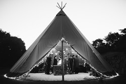 Tipi Winter Wedding