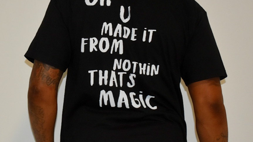 """""""Oh You Made It"""" T-Shirt Black"""
