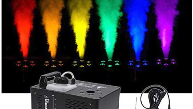 Fog Machine with Pyrotechnic Light