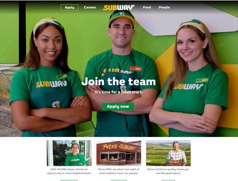 Subway National Campaign
