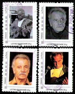 Lot-x-4-timbres-GEORGES-BRASSENS-poète.j