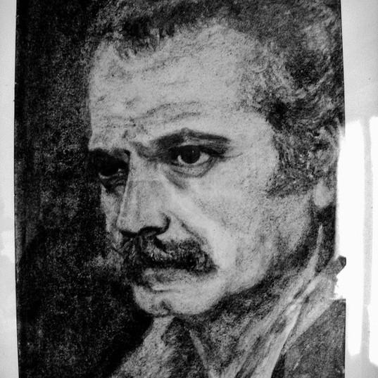 Portrait Brassens Gabriel Dassonville.jp
