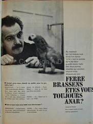 7 PARIS MATCH BENELUX 18 NOV 1961 J.BORG
