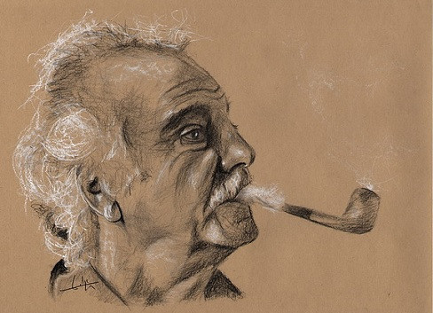 Portrait Brassens Ph Flohic.jpg