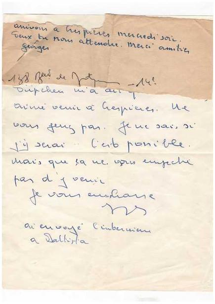 Georges_Brassens_-_lettre_autographe_-_C