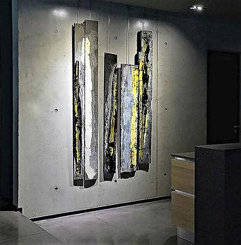 Fine art Aix en Provence - painting wood