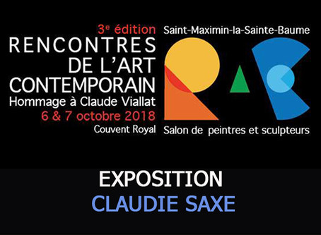 Contemporary Art meeting in Saint Maximin Saint Baume