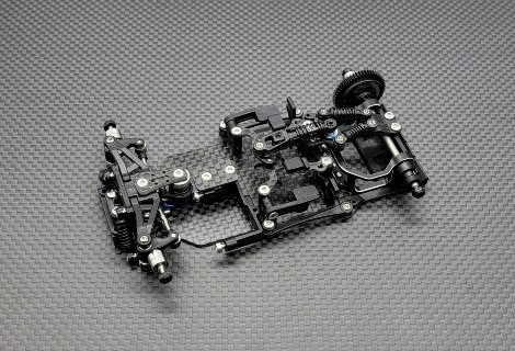 GLR-GT 1/28 RWD Chassis - With out RX , Servo, ESC - GL-GT-001-NEL