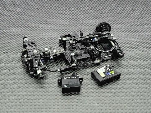 GLR-GT 1/28 RWD Chassis - W/O RX- GL-GT-001-KSET