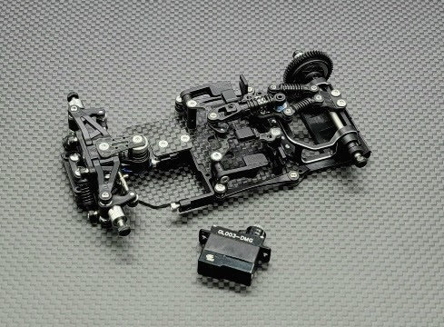 GLR-GT 1/28 RWD Chassis - With out  RX, ESC - GL-GT-001-NES
