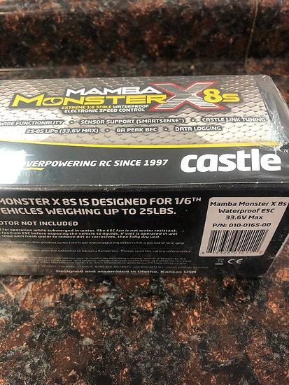 Castle mamba monster 8s