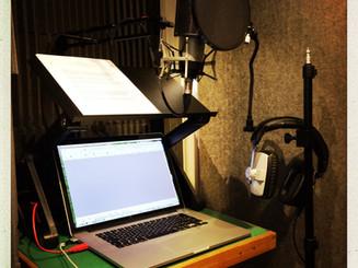 Home studio, ready to record ...