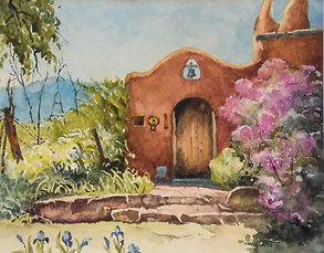 Santa Fe & Taos Watercolor Paintings