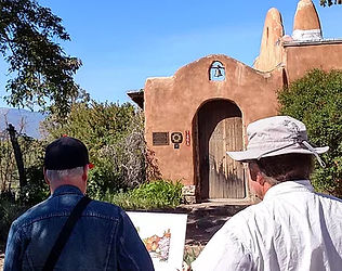 Watercolor Workshop in Taos, New Mexico with Dennis Pendleton