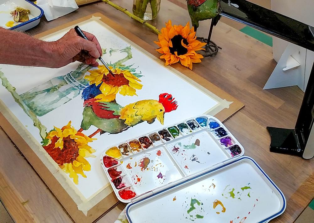 Dennis Pendleton Watercolor Artist Instructor