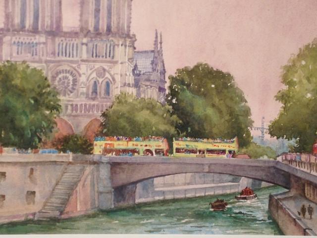 View From A Paris Bridge