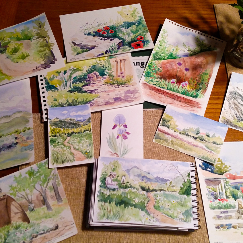 Taos Watercolor Workshop