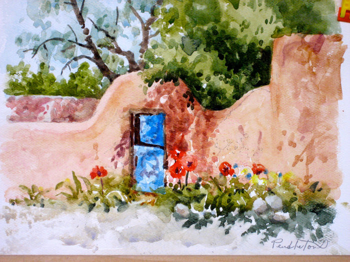 Taos Watercolor Workshop with Dennis Pendleton