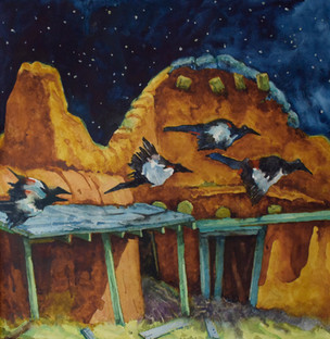 Painting a Nocturnal Scene