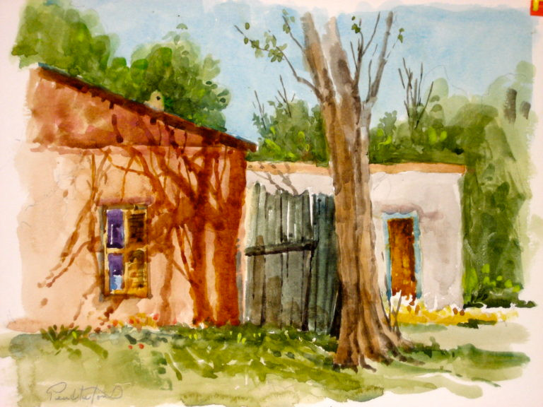 Taos Watercolor Workshop - Dennis Pendleton