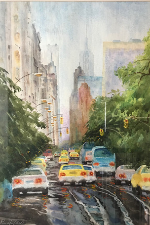 Rain On 5th Avenue