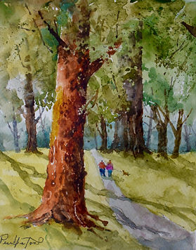 Online Watercolor Classes - Private Classes with Artist Dennis Pendleton - Learn to paint at home!