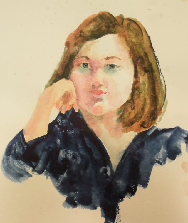 Portrait Class Watercolor Painting