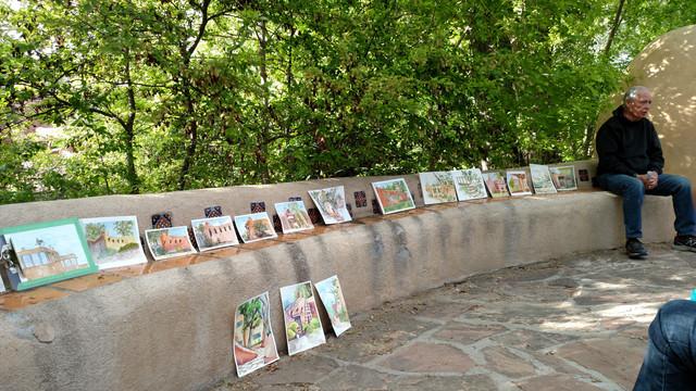 Taos Watercolor Workshop Photos