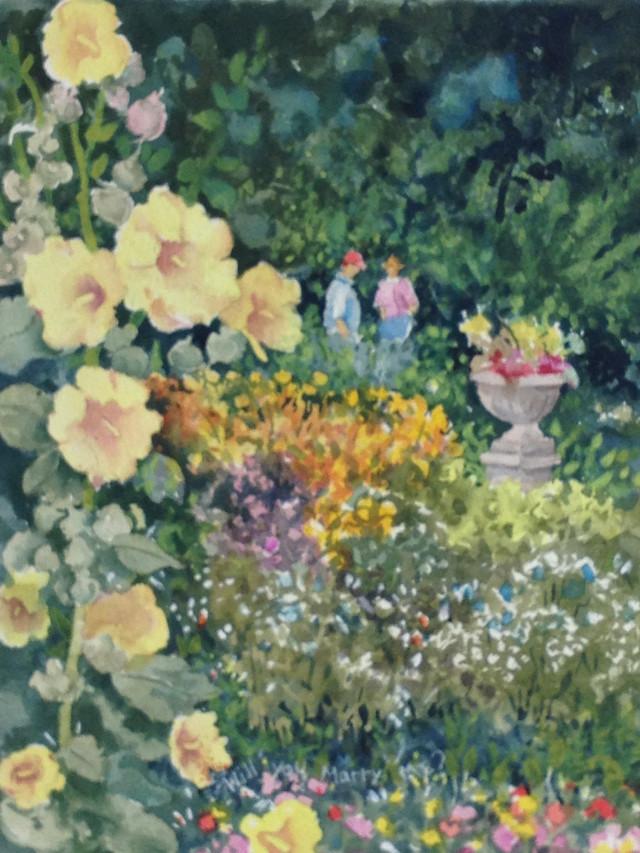Denver Botanic Gardens Watercolor Workshops