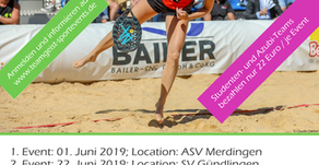 Start der Beach Tennis Tour 2019