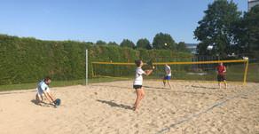 1. Beach Tennis Training
