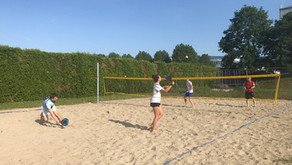 1. Beach Tennis Training