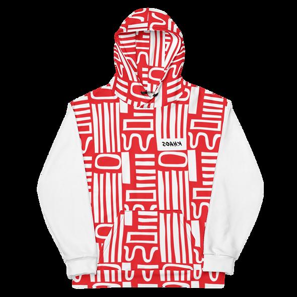 AMAZE RED/WHITE HOODIE