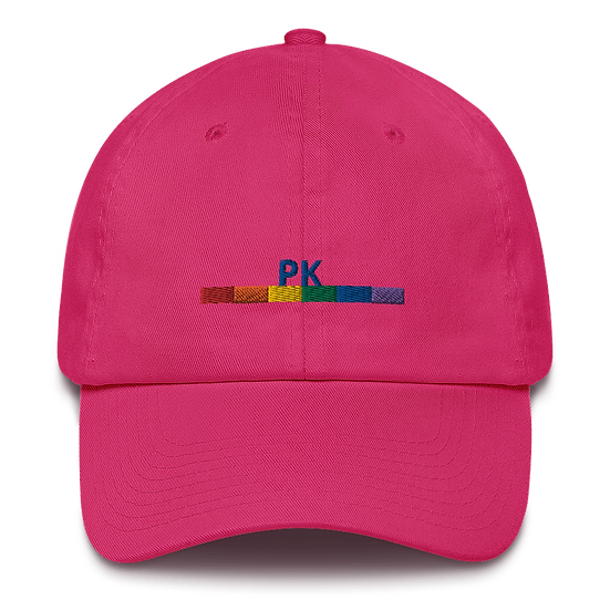 MULTI COLORED PK PRIDE HAT